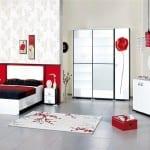 Merinos renkli Yatak Odası Modelleri