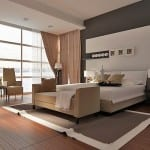 Modern tasarim tekzen yatak odasi takimi