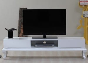 NewTrend Mobilya Olivia Beyaz TV Sehpası
