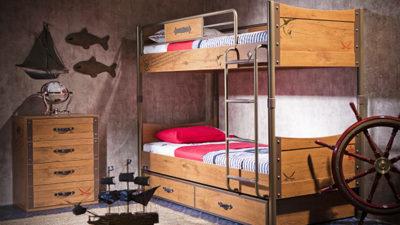 Genç Odalarına Ahşap Ranza Modelleri
