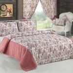 apolena çiçekli yatak örtüsü