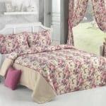 apolena ışık çiçekleri yatak örtüsü