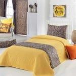 apolena düz renk yatak örtüleri