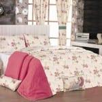 apolena pembe düşler yatak örtüsü