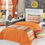 apolena rengarenk yatak örtüsü modelleri