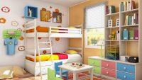 Rengarenk Ranzalı Çocuk Odası Modelleri 2016