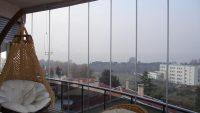 Balkonlara Modern Cam Kapatma Sistemleri 2014-2015