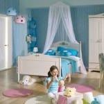 cilek beyaz cocuk odasi
