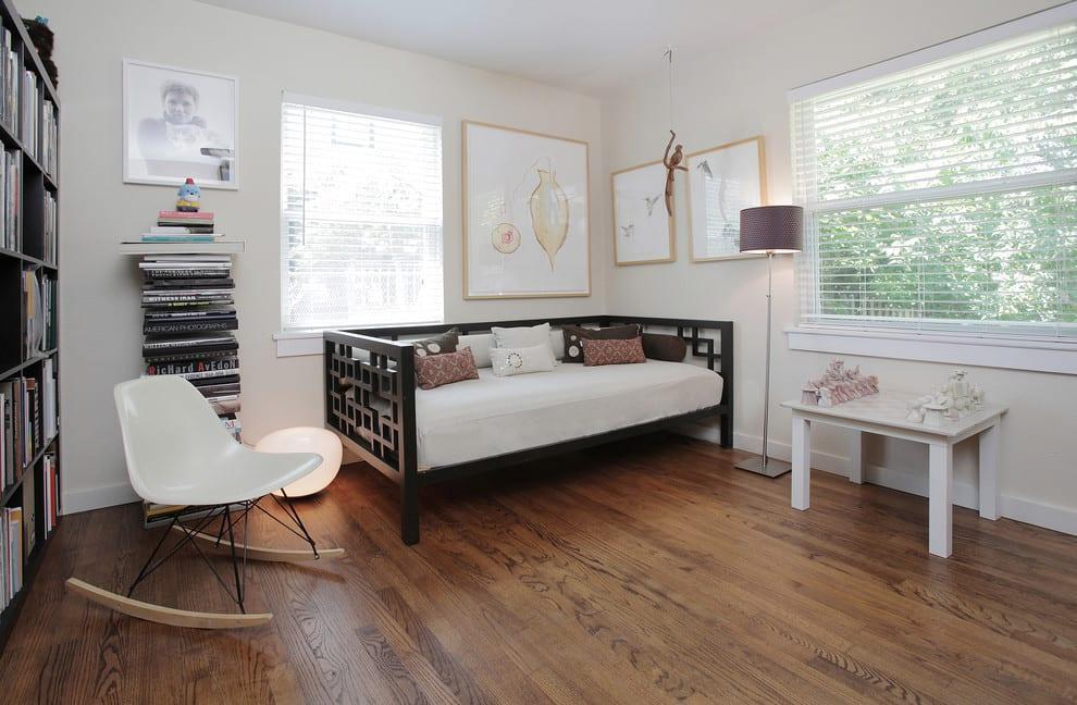 daybed yataklı tek kisilik oda