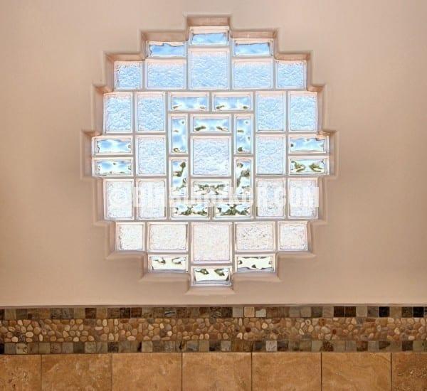 dekoratif cam tugla dekorasyon fikirleri