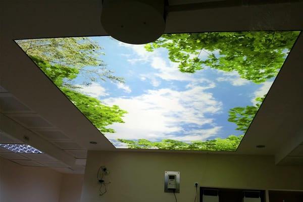 dekoratif gergi tavan sistemleri