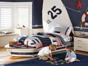 Denizci çocuk odaları