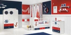 Denizci çocuk odaları yeni