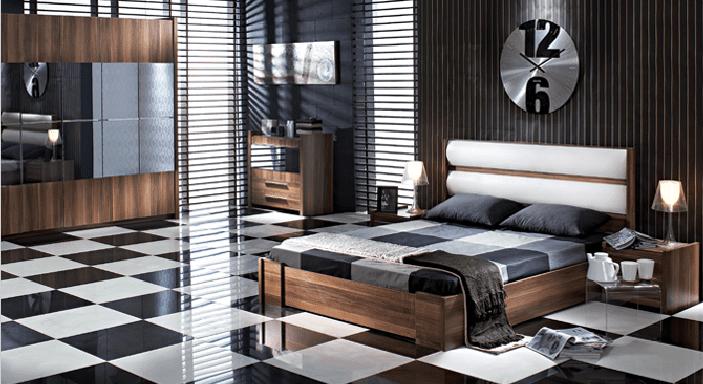 dogtas yatak odasi