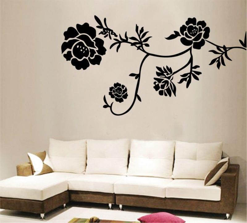 duvar dekorasyonu sticker