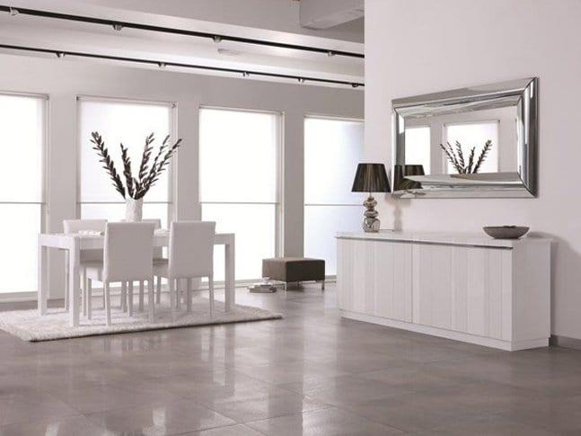 fuga beyaz yemek odasi