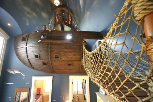 Gemi çocuk oda