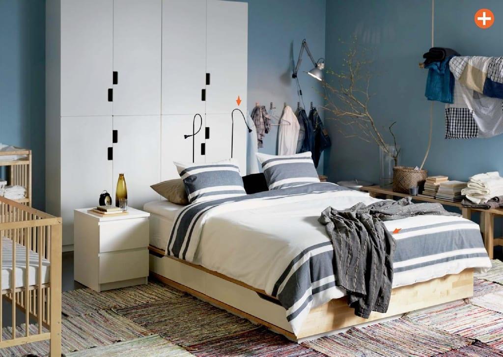 ikea 2015 yatak odası modelleri