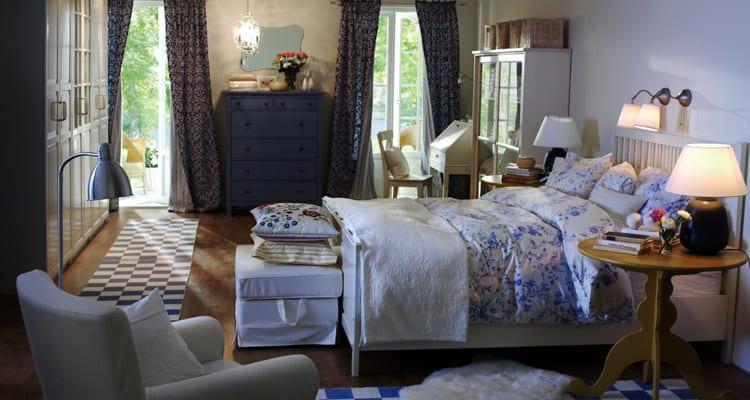 ikea en güzel yatak odası modeli