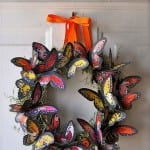 butterfly wreath...cant...stop...making...butterflies
