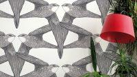 Yeni Moda Renkli Desenli Duvar Kağıdı Modelleri
