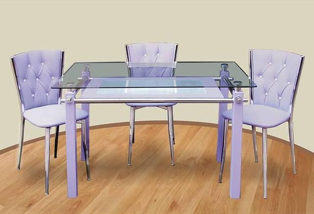 lila cam mutfak masasi modelleri