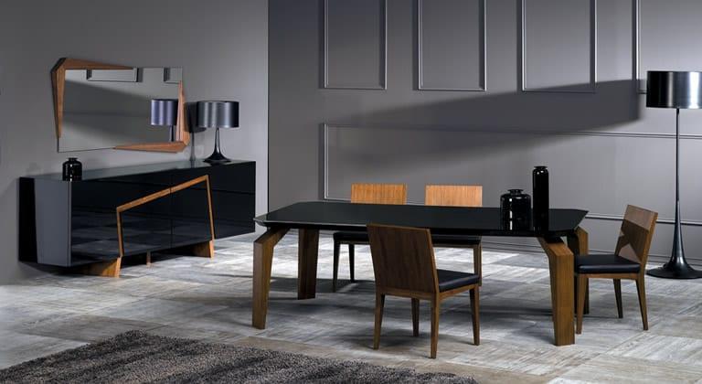 milano mobilya castaspella yemek odasi