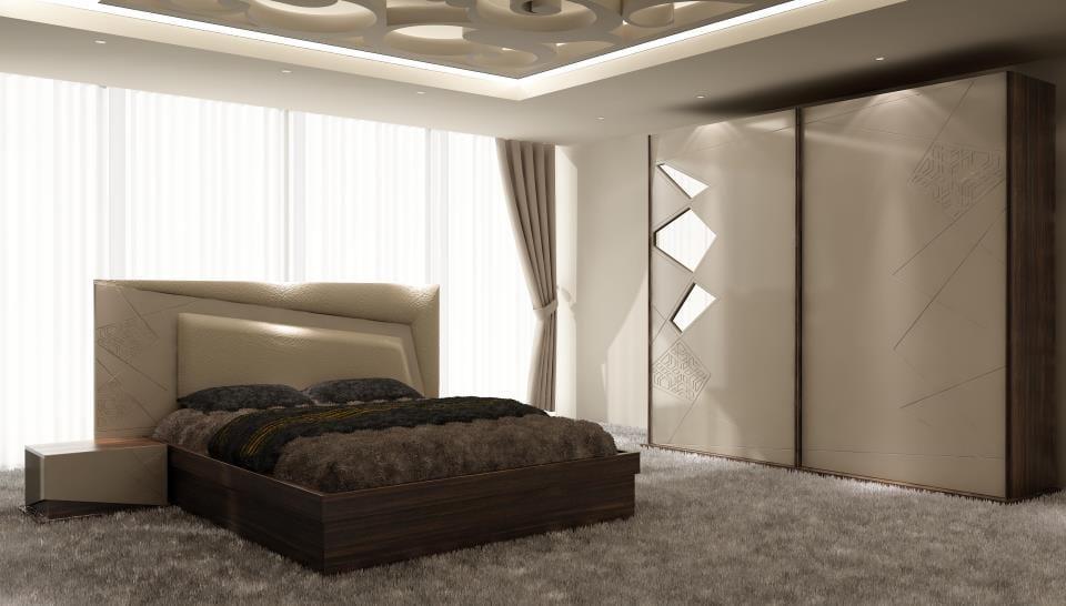 milano mobilya yeni trend yatak odalari