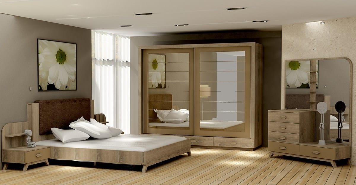 milano yatak odası modelleri
