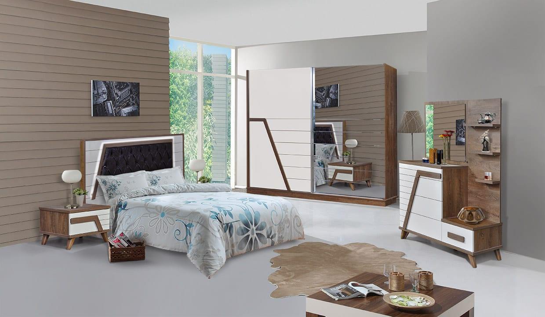 milano yatak odasi takimi