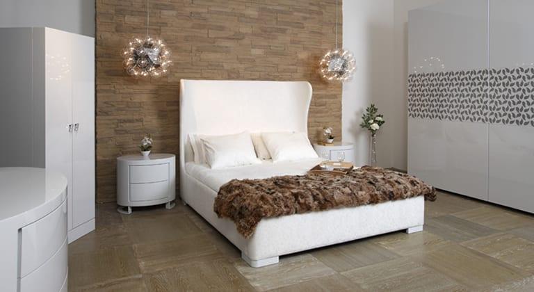 modern beyaz mondi yatak odasi takimi