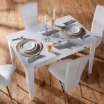 mondi beyaz mutfak masa takimi