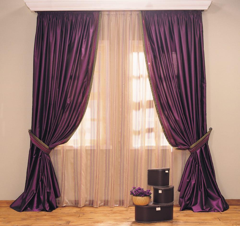 mor fon perde modelleri dekorstyle. Black Bedroom Furniture Sets. Home Design Ideas