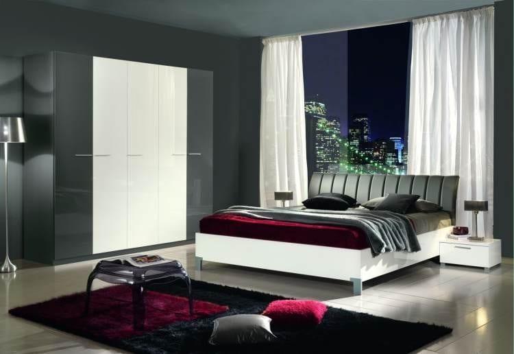 En g zel 25 yeni moda yatak odas modeli dekorstyle for Chambres modernes a coucher
