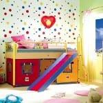 Ranzalı Oyun Alanlı Çocuk Odaları