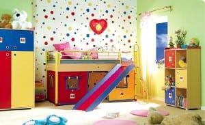 ranzali oyun alanli cocuk odalari
