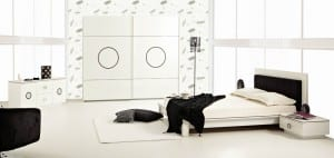 rapsodi mobilya modern beyaz yatak odasi takimi