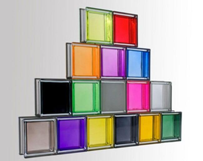 renkli cam tuğla