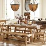 rustik yemek odasi modeli