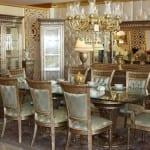 rustik yemek odasi modelleri
