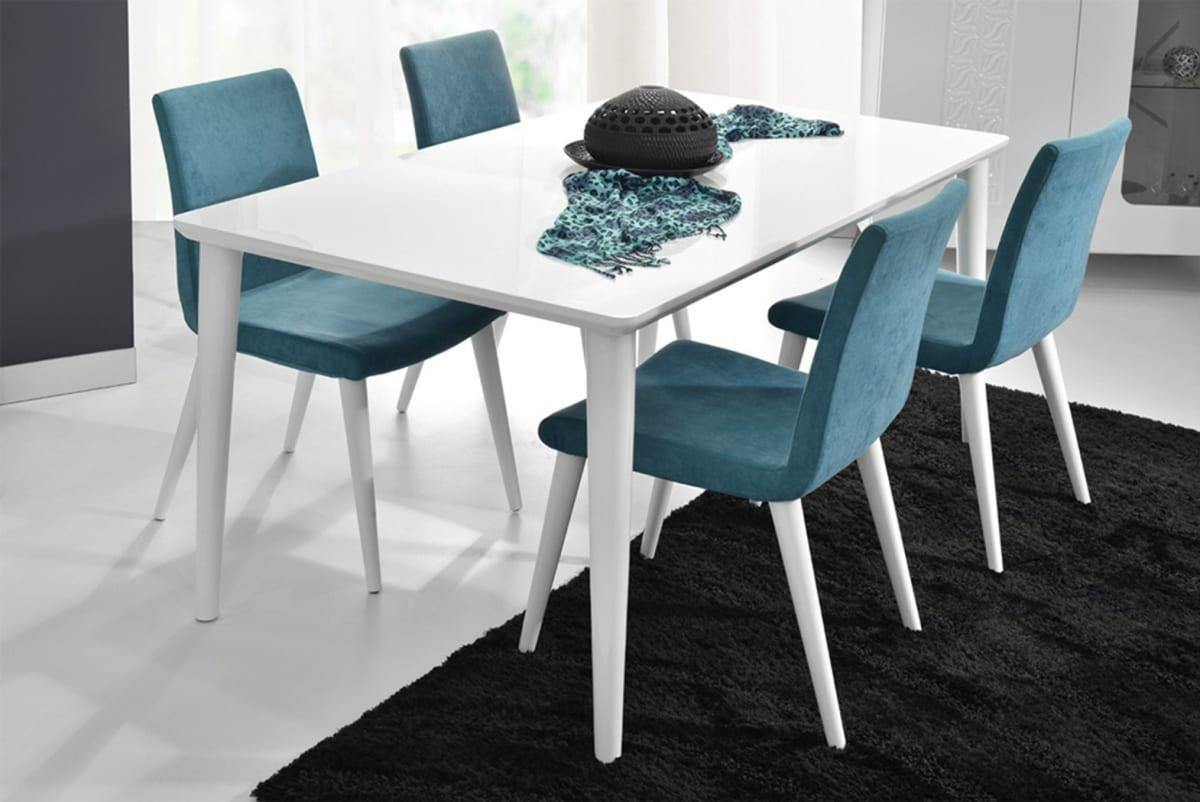 tarz mobilya yemek masasi