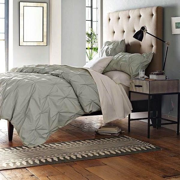 tek kisilik modern yatak odasi