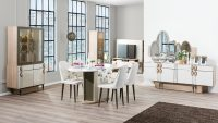 Weltew Mobilya Modern Yemek Odası Modelleri 2015