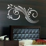 yatak Odası Duvar Sticker Dizaynı