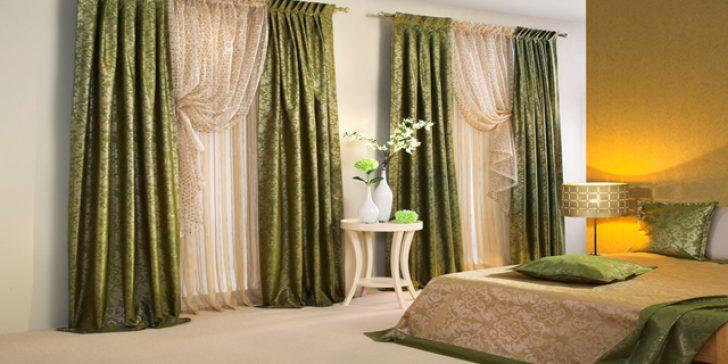 Yatak Odası 2015 Modern Perde Modelleri
