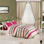 yatak odasi fon perde modelleri