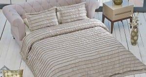 Yataş Poly Yatak Örtüsü Vizon