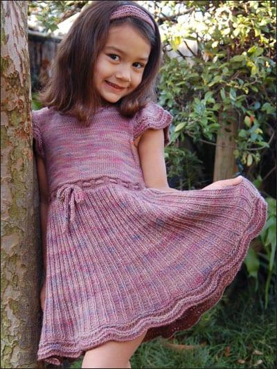 yeni moda orgu kiz cocuk elbiseleri
