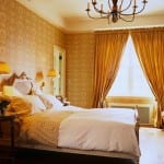 yeni trend yatak odası perde modelleri