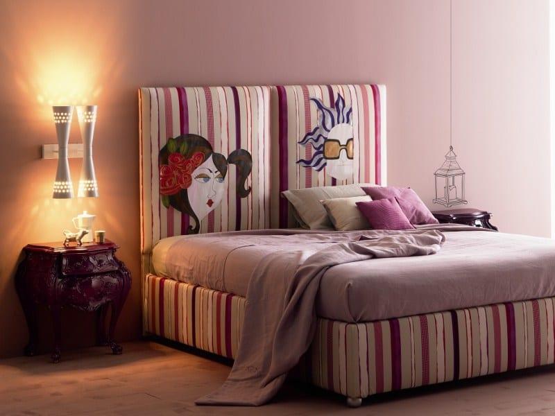 2015 dekoratif yatak basi modelleri